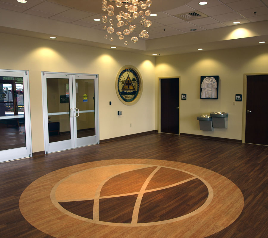 Centra Health College of Nursing - Lobby