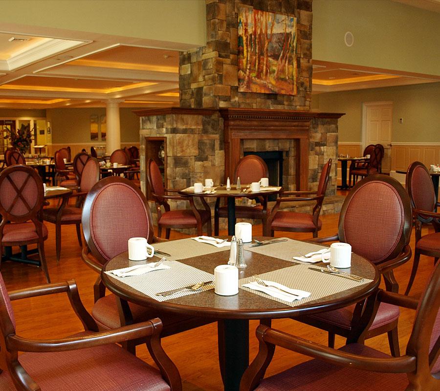 Friendship Manor Retirement Community Roanoke VA Dining Hall1
