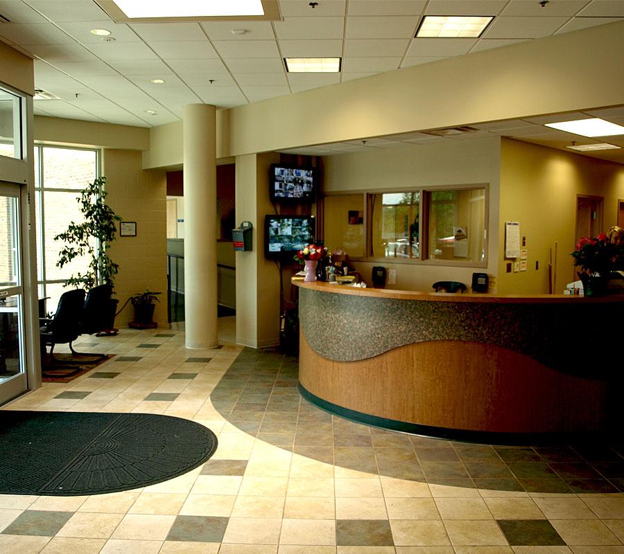 Staunton YMCA - Lobby