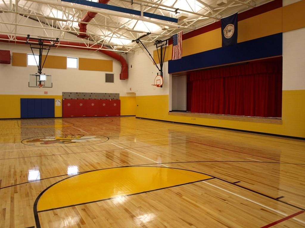 Riverlawn Elementary school gym