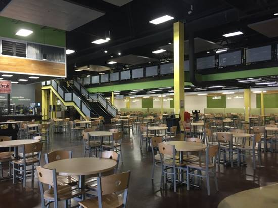 Liberty University Tilley Student Center Interior