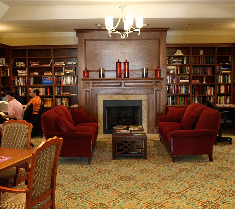 Friendship Retirement Community Residence Center Library