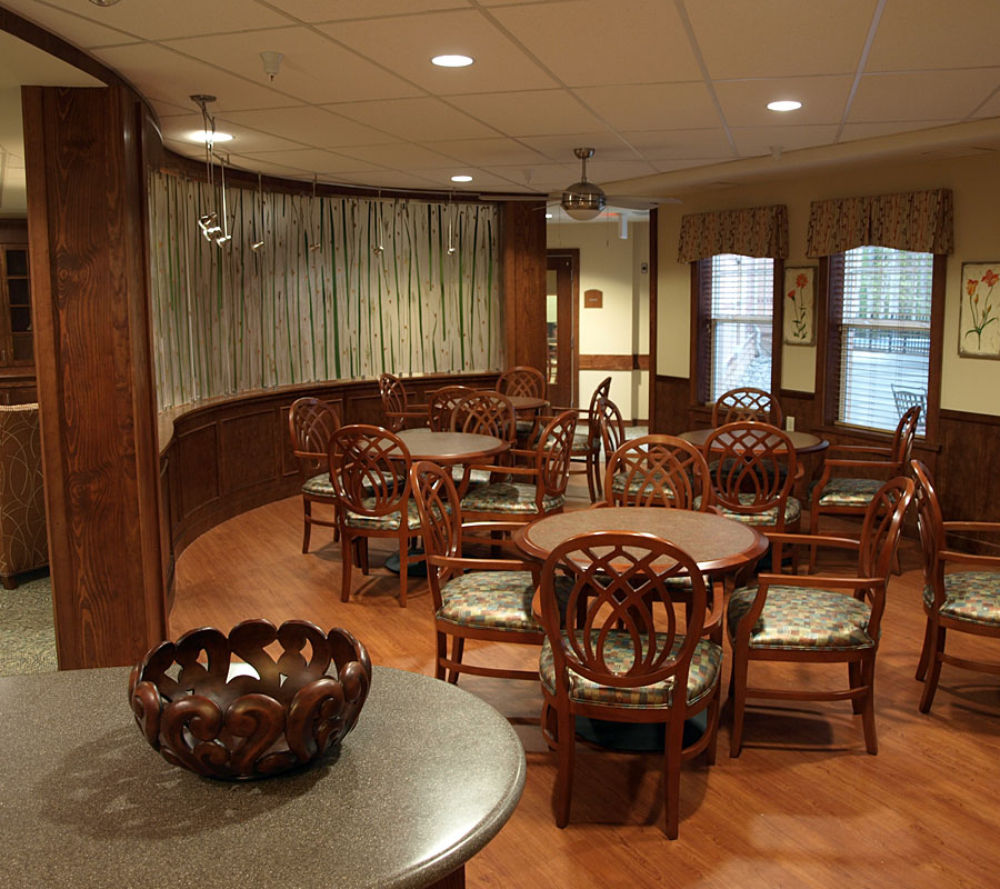 University Park Assisted living cafe