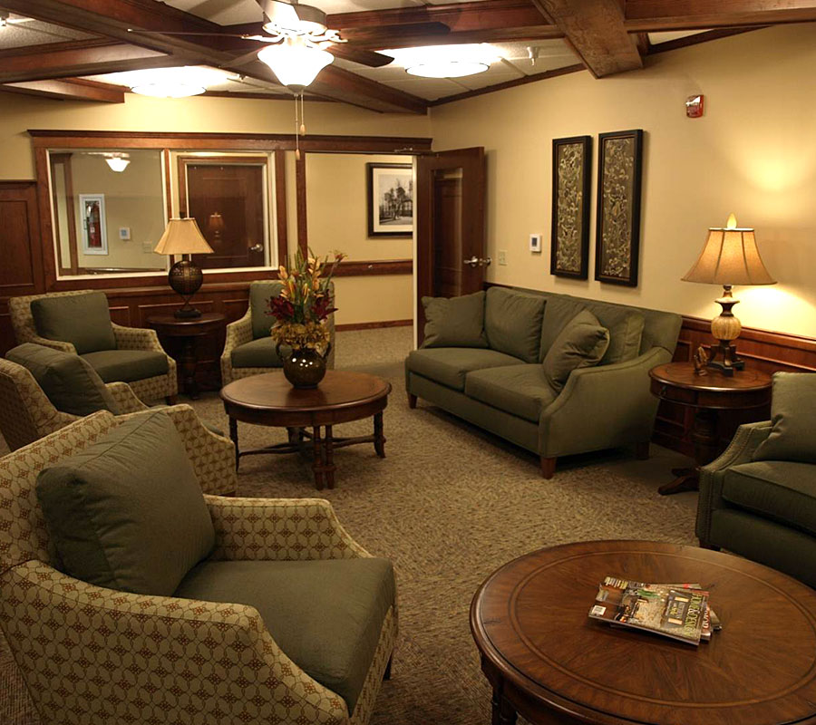 University Park Assisted living pub room