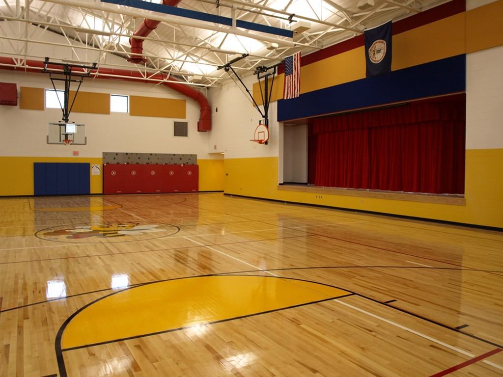 Riverlawn Elementary school gym