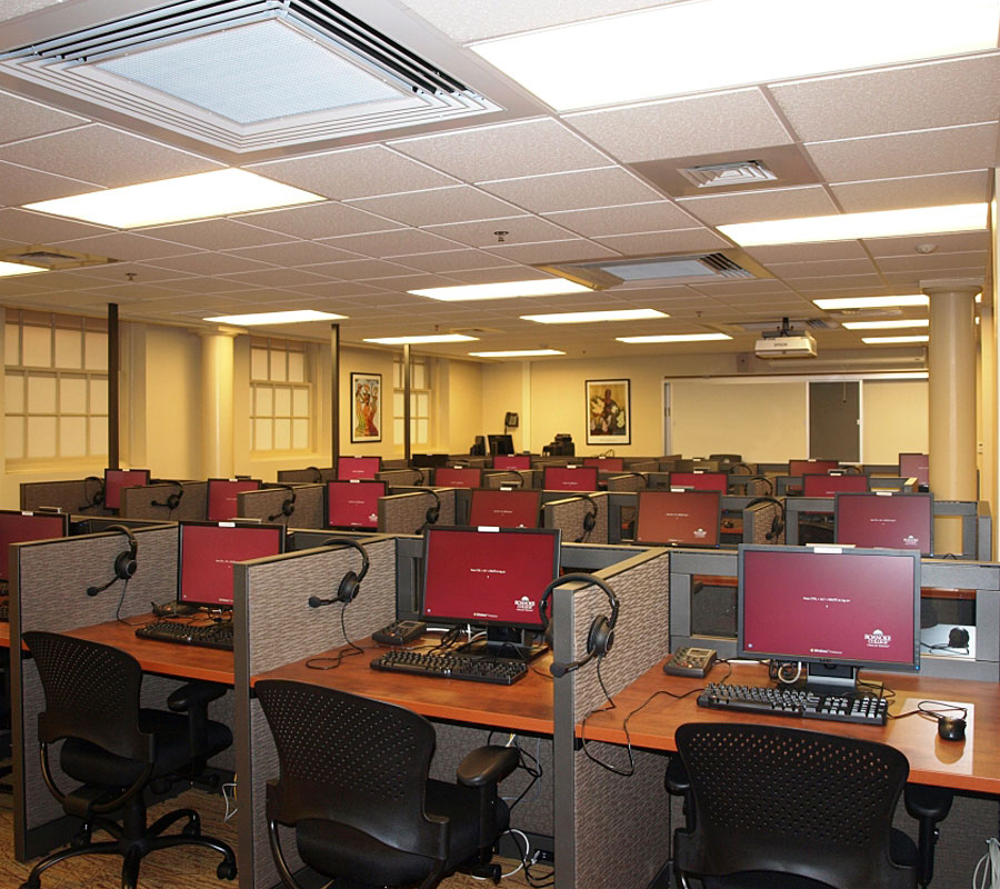 foreign language computer lab roanoke college