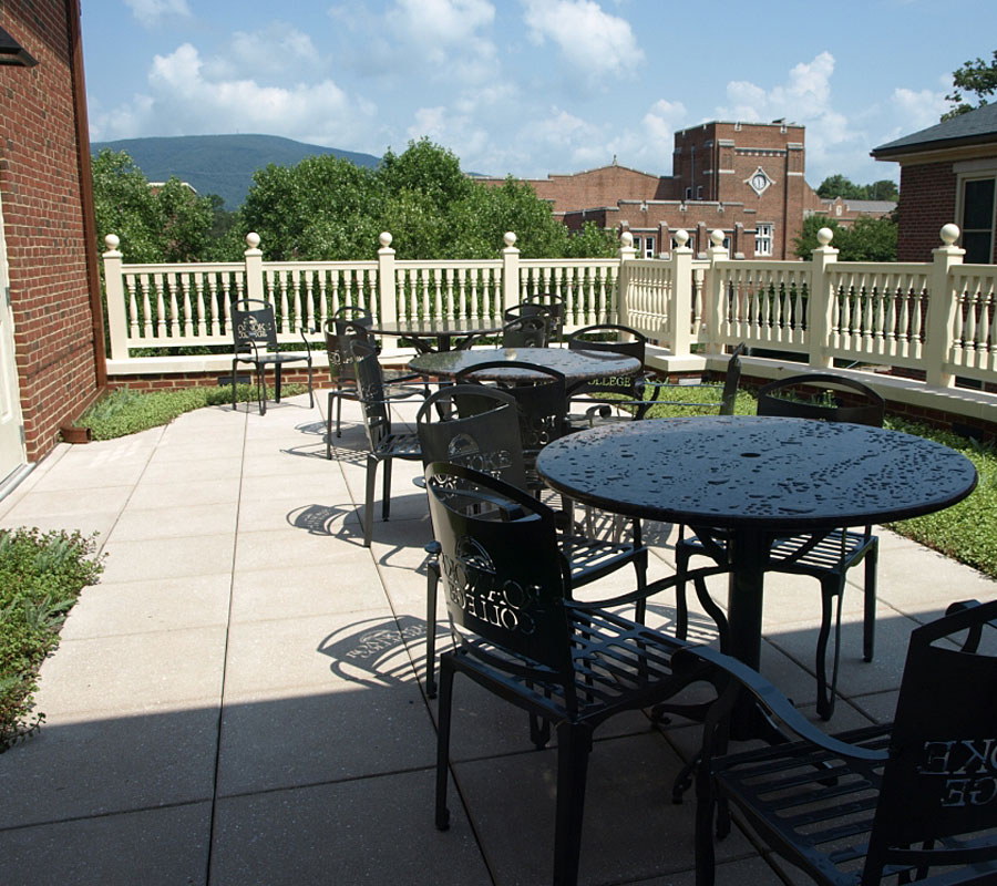 lucas hall roanoke college 3rd floor patio