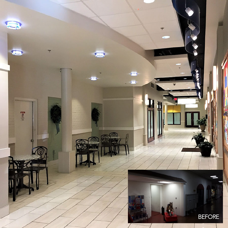 Towers Mall Interior Renovation, Roanoke Virginia