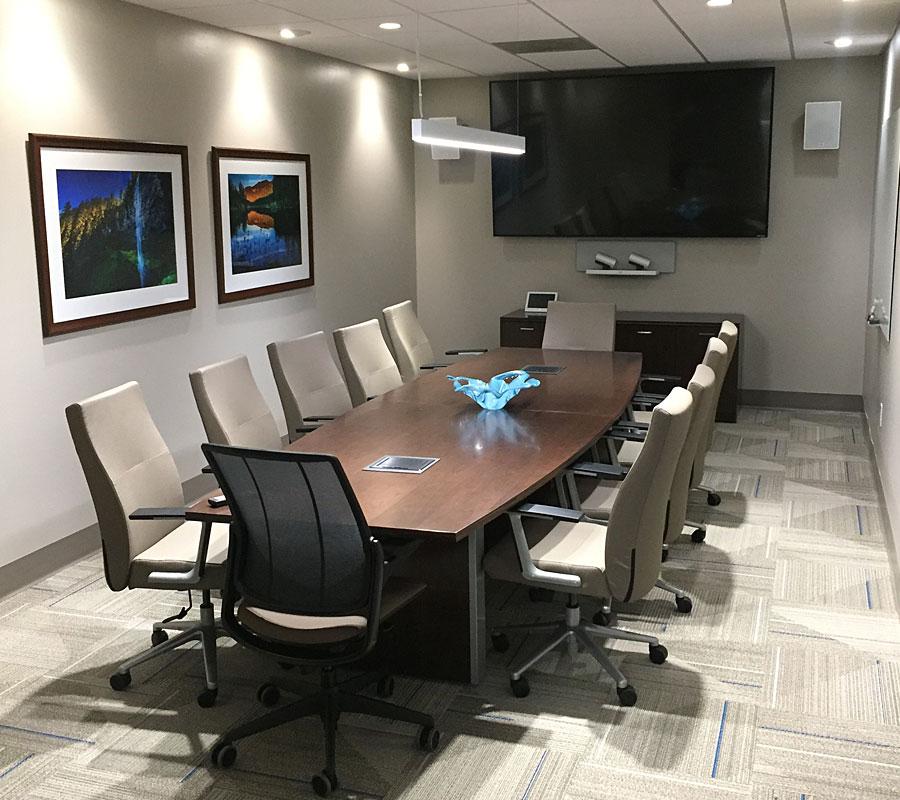 Höganäs conference room