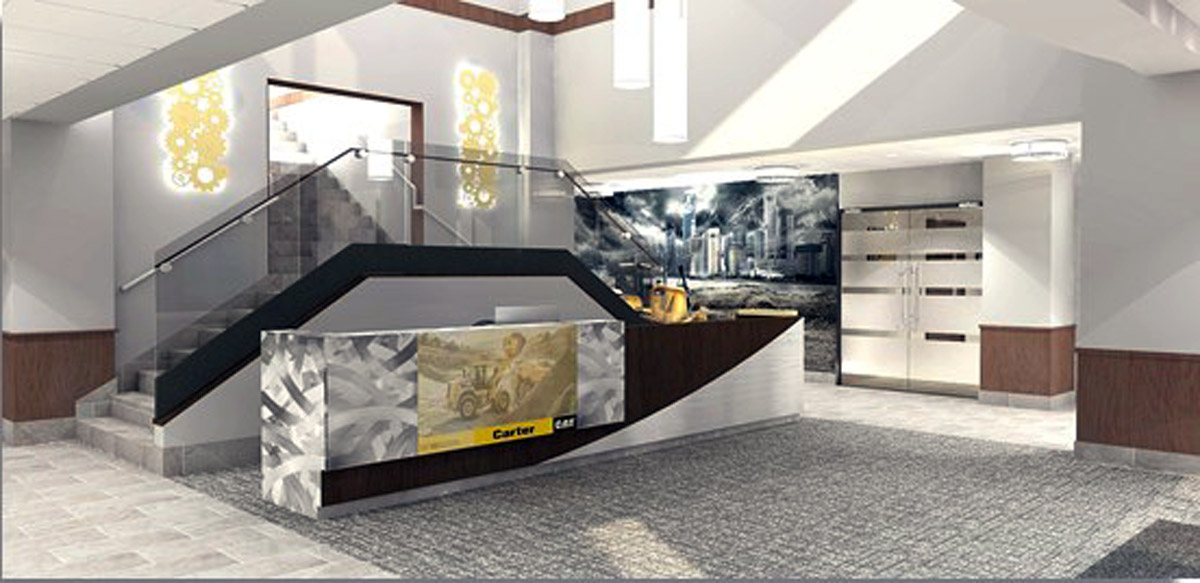Carter Machinery lobby