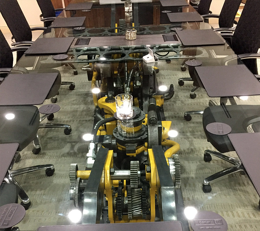 Carter Machinery conference table