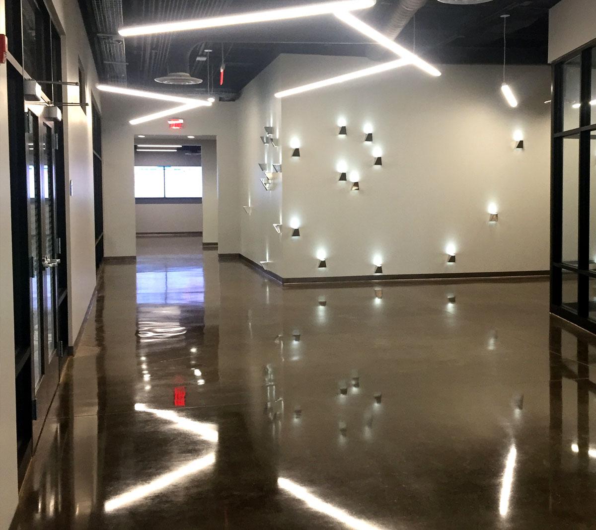 911 Center corridor