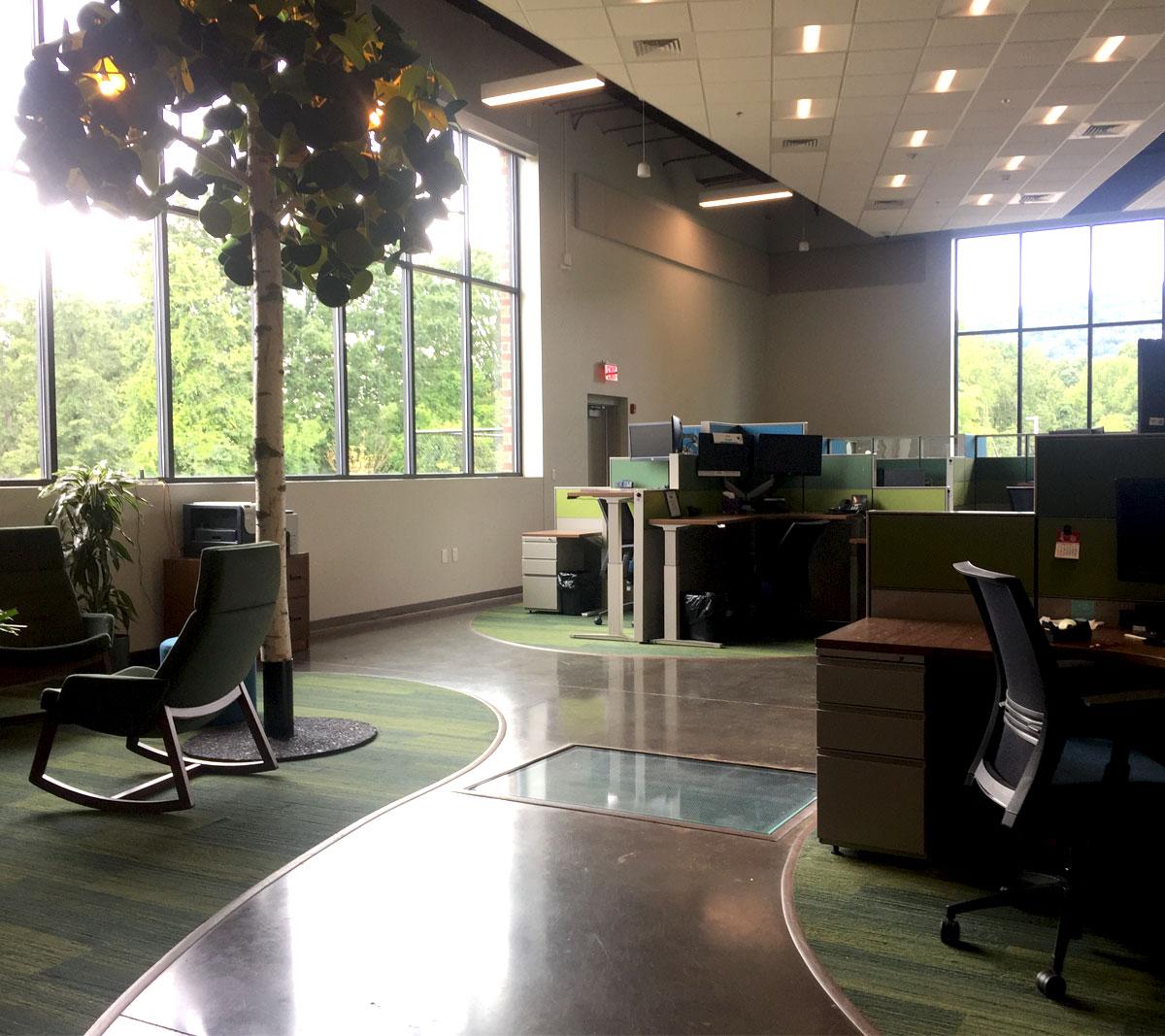 Blue Hills 911 Communication Center Workspace