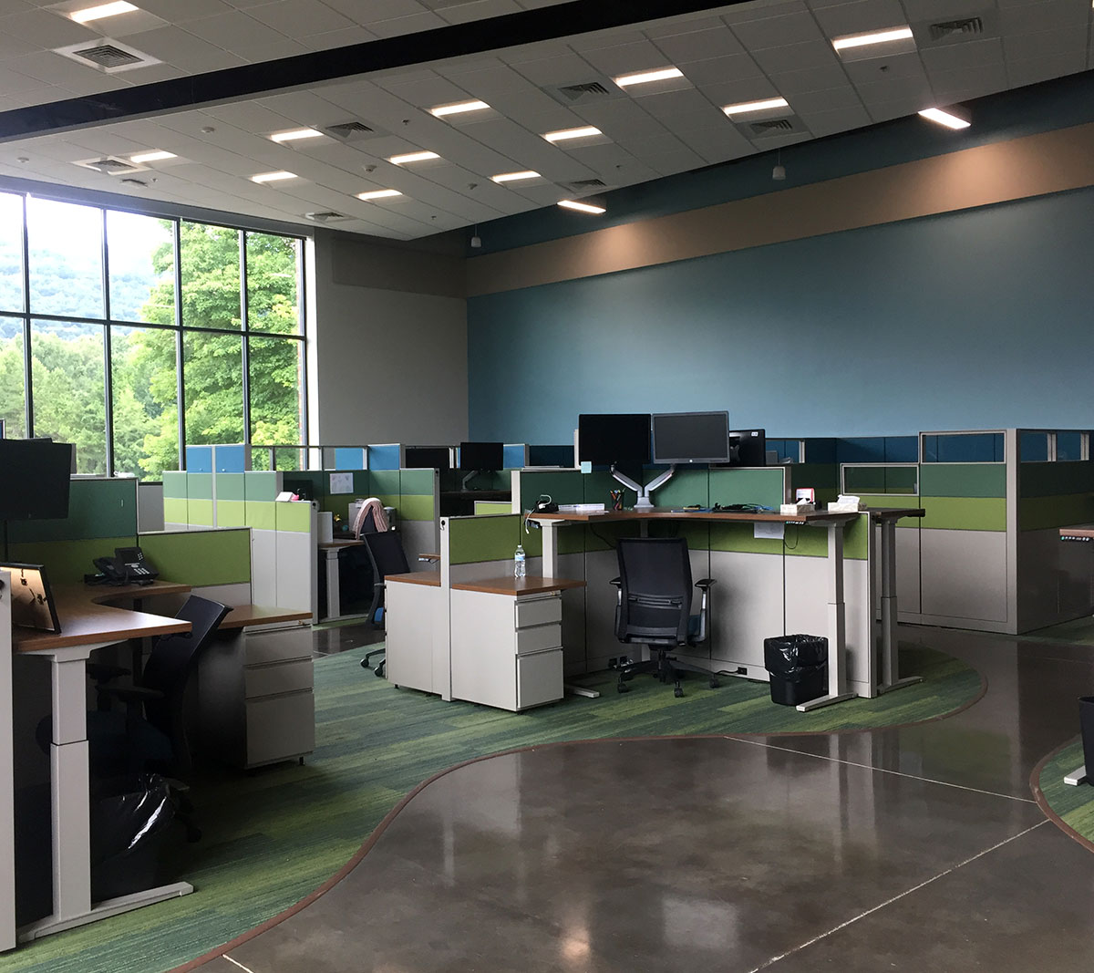 e911 Communication Center workspace